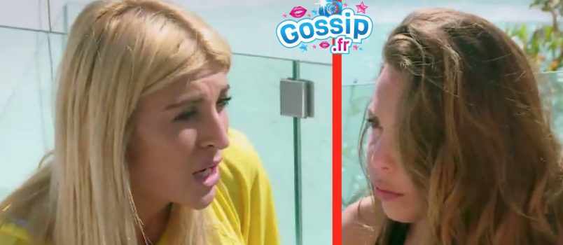 "VIDEO - Mélanie vs Kim (#LesAnges9): ""T'as agi comme une tchoin!"""