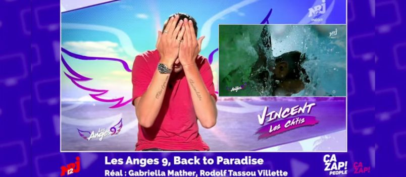 Vincent Shogun percute Julien Bert (#LesAnges9)! ZAP PEOPLE DU 20/06/2017