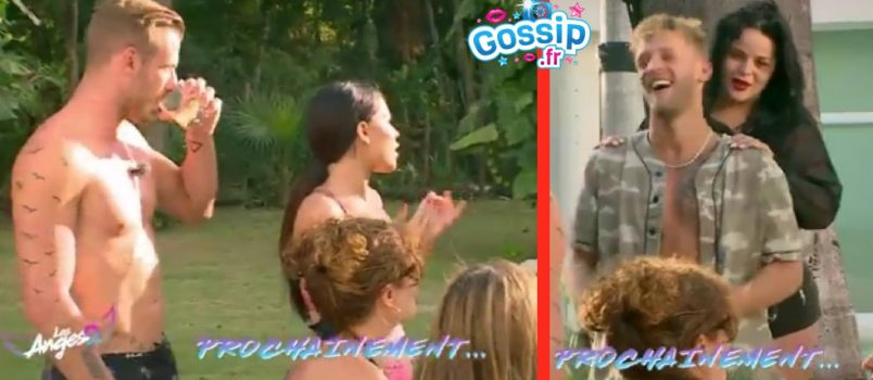 VIDEO - #LesAnges9: Milla & Julien vs Sarah & Jordan... c'est la guerre!