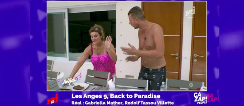 #LesAnges9: Vincent Shogun vs Frédérique, le clash! ZAP PEOPLE DU 28/06/2017