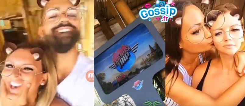 VIDEOS - Amélie (#FriendsTrip4): 1er jour off avec Vincent Queijo, Astrid et les autres!