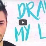 Darko raconte son histoire en dessin, une vidéo originale, drôle et touchante!
