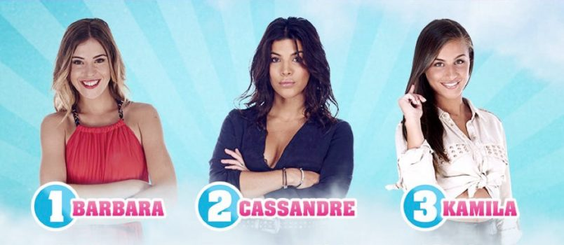 Barbara, Cassandre et Kamila (#SS11) nominées: Les 1ères estimations!