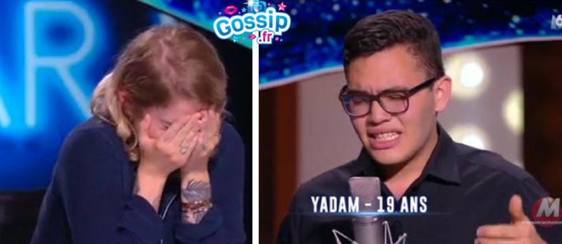 VIDEO - Yadam (#NouvelleStar): Le candidat qui a ému le jury aux larmes!