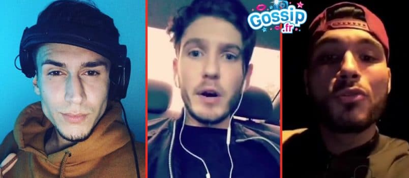 VIDEOS - Ted, Dylan et Seb (#LPDLA5) règlent leurs comptes sur Snapchat!