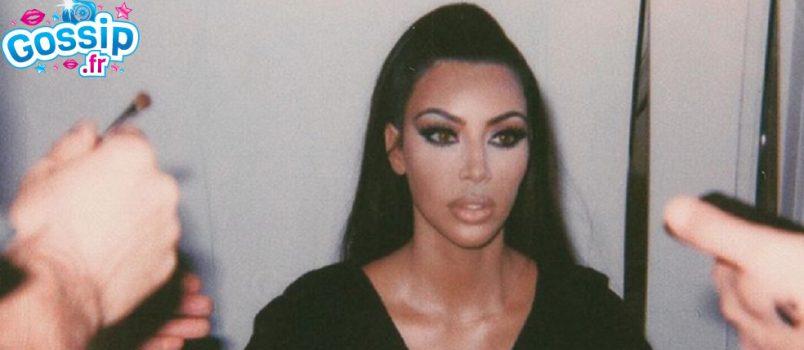 PHOTO - Kim Kardashian s'exhibe de nouveau nue pour faire une annonce !
