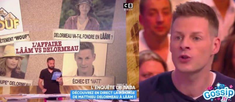 """VIDEO - Matthieu Delormeau répond aux insultes """"d'une vulgarité nucléaire"""" de Lââm!"""
