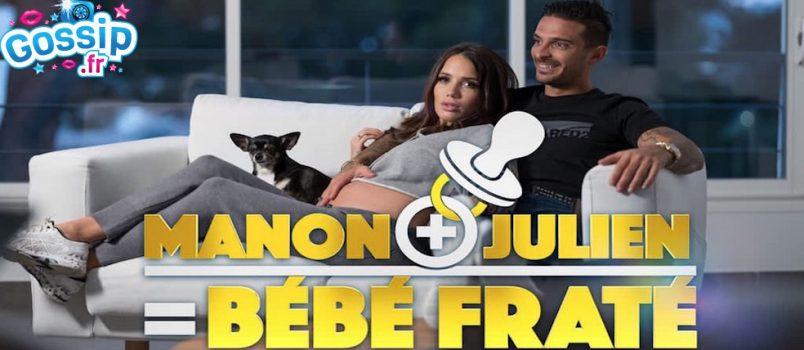 """VIDEO - Les 5 épisodes de """"Manon + Julien = Bébé Fraté"""" dévoilés!"""