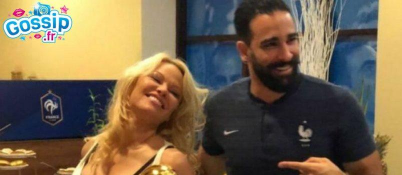 Pamela Anderson : Sa touchante déclaration à Adil Rami !