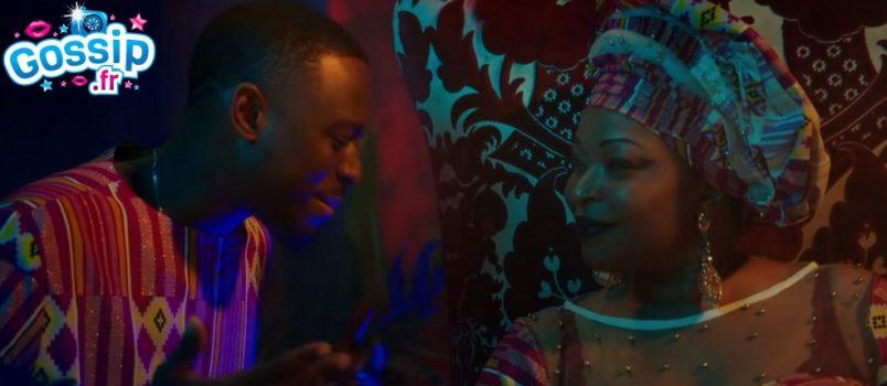 """VIDEO - Dadju pose aux côtés de sa """"Lionne"""""""