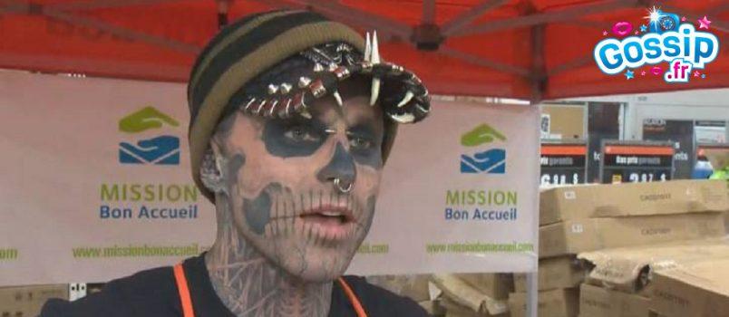 ZombieBoy: Le mannequin le plus tatoué de la planète a mis fin à ses jours !