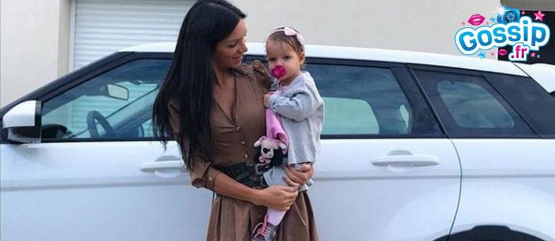 PHOTOS - Julia Paredes partage le baptême de sa fille Luna !