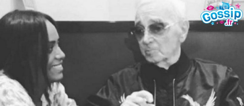 Mort de Charles Aznavour : Amel Bent est complètement effondrée !