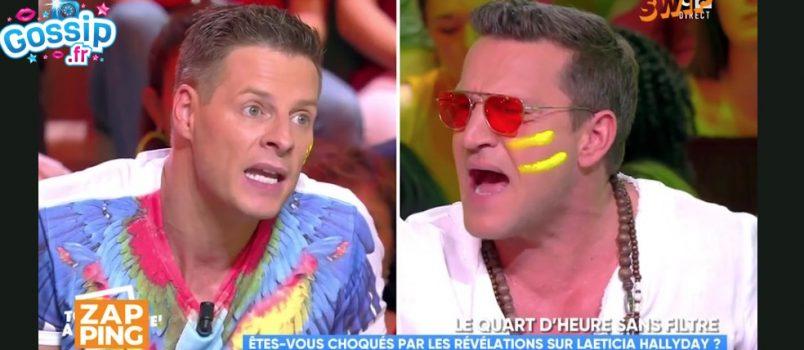 #TPMP: Matthieu Delormeau violemment insulté par Benjamin Castaldi!
