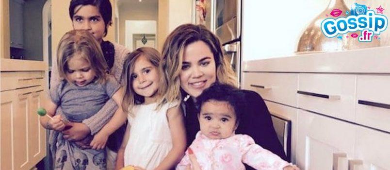 Les bébés Kardashian-Jenner enfin réunis: le cliché trop craquant !