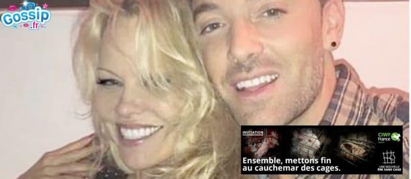 #DALS9: Pamela Anderson et Maxime Dereymez militent contre l'élevage en cage!