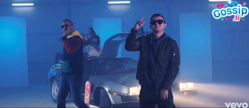 """VIDEO - Rim'K et Vald en mode """"Retour vers le futur"""" dans DeLorean!"""
