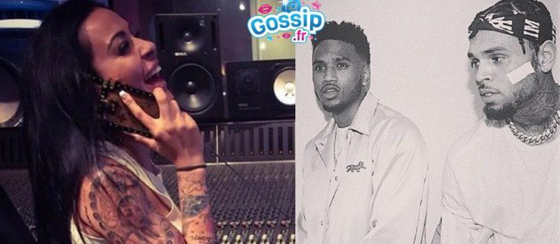 Shanna Kress: Elle a tourné dans le clip de Trey Songz et Chris Brown!