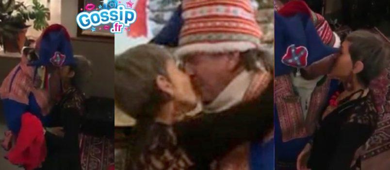 #BabaEnLaponie: Le baiser d'Isabelle Morini Bosc avec un homme choque la Toile!