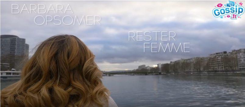 """Barbara Opsomer dévoile le clip de sa reprise de """"Rester Femme"""" d'Axelle Red"""