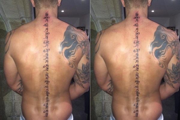 photo - benjamin (#lesanges6): découvrez son nouveau tatouage sur la