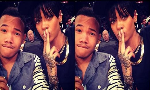 Photos Rihanna Elle Nous Presente Son Petit Frere Et Lui Adresse