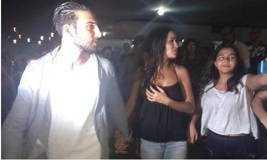 3a7d72d462dd PHOTOS - Aymeric et Leïla ( SS8)  Ils provoquent une émeute à l aéroport de  Tunis!